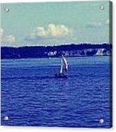 Sailing Seattle  Acrylic Print