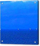 Sailing Ships Acrylic Print