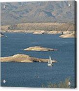 Sailing The Desert Acrylic Print
