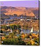 Sailing The Nile Acrylic Print