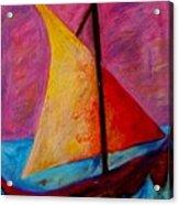 Sailing The Seas Acrylic Print
