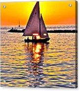 Sailing The Seven Seas Acrylic Print
