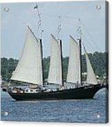 Sailing Through History Acrylic Print