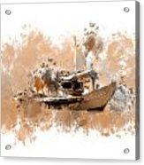 Sailing Time Acrylic Print