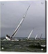 Sailing To Windward Acrylic Print