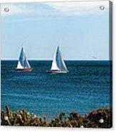Sailing Watch Hill Ri Acrylic Print