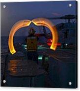 Sailor Signals Acrylic Print
