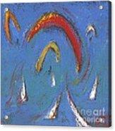 Sails And Kites 5  Acrylic Print