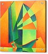 Sails At Sunrise Acrylic Print
