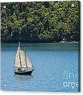 Sails In The Wind Acrylic Print
