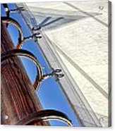 Sails Up Acrylic Print
