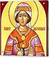 Saint Alexandra Acrylic Print