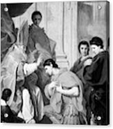 Saint Ambrose (339-397) Acrylic Print