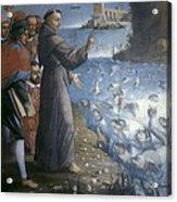 Saint Anthony Of Padua Preaching Acrylic Print