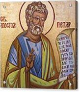 Saint Apostle Peter Acrylic Print