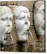Saint Augustine Fountain Acrylic Print