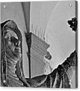 Saint Catherine Of Siena Acrylic Print by Leslie Lovell