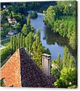 Saint Cirq Lapopie Acrylic Print