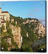 Saint Cirq Panoramic Acrylic Print