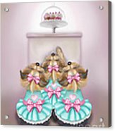 Saint Cupcakes Acrylic Print