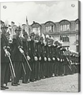 Saint Cyr Cadets At Ecole Polmtechnique Acrylic Print