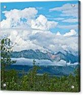 Saint Elias Mountains In Kluane National Park-yk  Acrylic Print