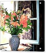 Saint Emilion Window Acrylic Print
