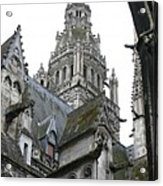 Saint Gatien's Cathedral Steeple Acrylic Print
