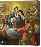 Saint James Being Visited By The Virgin Acrylic Print