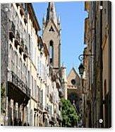 Saint Jean De Malte - Aix En Provence Acrylic Print