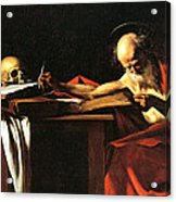 Saint Jerome Writing Acrylic Print