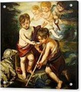 Saint John Baptist Acrylic Print
