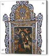 Saint John. Colonial Baroque. Oil Acrylic Print