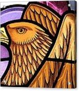 Saint John Eagle  Acrylic Print