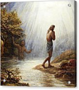 Saint John The Baptist Acrylic Print