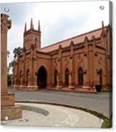 Saint John's Cathedral Anglican Church Peshawar Pakistan Acrylic Print