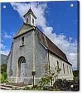Saint Joseph Church Maui Hawaii Acrylic Print