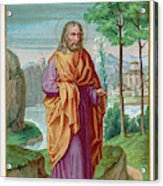 Saint Joseph Husband Of Mary, And Acrylic Print
