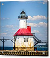 Saint Joseph Lighthouse Picture Acrylic Print by Paul Velgos