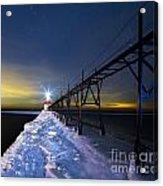 Saint Joseph Pier In Evening Acrylic Print