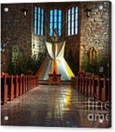 Saint Josephs Apache Mission Acrylic Print