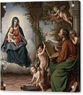 Saint Luke Acrylic Print