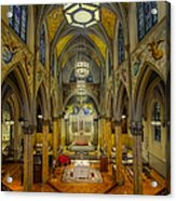 Saint Malachy The Actors Chapel  Acrylic Print