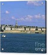 Saint Malo. Ille Et Vilaine. Brittany. Bretagne. France. Europe Acrylic Print by Bernard Jaubert