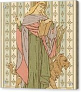 Saint Mark Acrylic Print