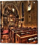 Saint Marks Episcopal Cathedral Acrylic Print