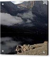Saint Mary Lake East Glacier Acrylic Print