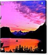 Saint Mary Lake Twilight Acrylic Print