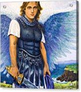 Saint Michael The Archangel Acrylic Print