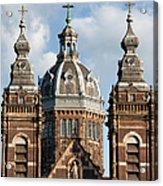 Saint Nicholas Church In Amsterdam Acrylic Print